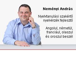 Neményi András, Nyelvmester